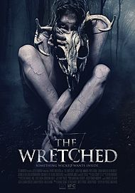 "Movie poster for ""THE  WRETCHED"""