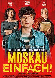 "Movie poster for ""MOSKAU EINFACH!"""