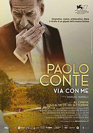 """Movie poster for """"PAOLO CONTE - VIA CON ME"""""""