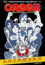 "Movie poster for ""CREEM: AMERICA'S ONLY ROCK 'N' ROLL MAGAZINE"""