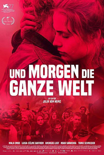 """Filmplakat für """"UND MORGEN DIE GANZE WELT"""""""