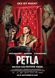 "Movie poster for ""PETLA"""