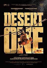 "Movie poster for ""DESERT ONE"""