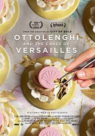 "Movie poster for ""OTTOLENGHI AND THE CAKES OF VERSAILLES"""