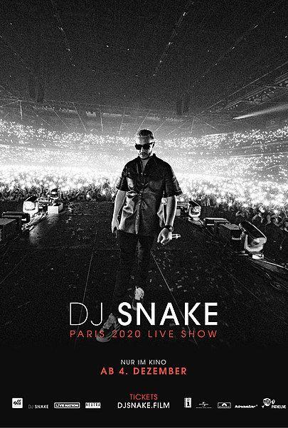 """Movie poster for """"DJ SNAKE - LE CONCERT AU CINEMA"""""""