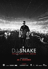 "Movie poster for ""DJ SNAKE - LE CONCERT AU CINEMA"""
