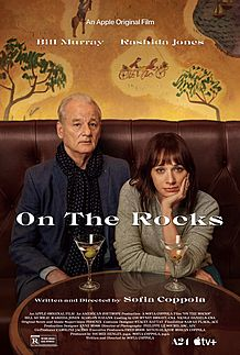 "Movie poster for ""ON THE ROCKS"""