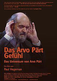 """Filmplakat für """"DAS ARVO PÄRT GEFÜHL"""""""
