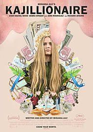 "Movie poster for ""KAJILLIONAIRE"""