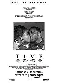 "Movie poster for ""TIME"""