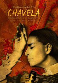 "Movie poster for ""CHAVELA"""