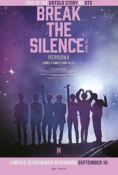 """Movie poster for """"BREAK THE SILENCE: THE MOVIE"""""""