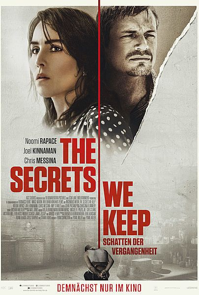 """Movie poster for """"THE SECRETS WE KEEP"""""""