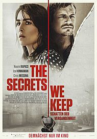 "Movie poster for ""THE SECRETS WE KEEP"""