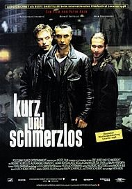 """Movie poster for """"KURZ UND SCHMERZLOS"""""""
