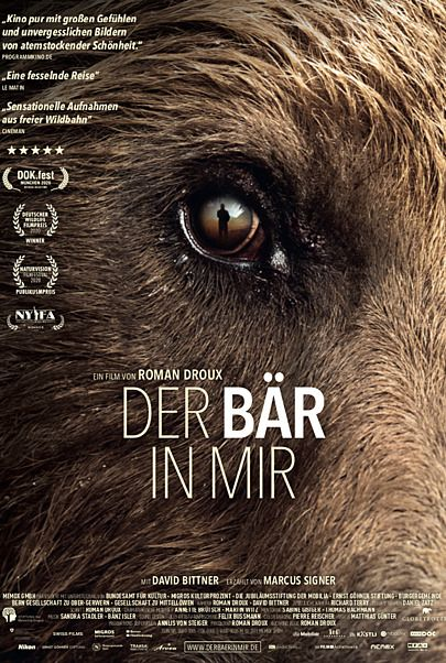 "Movie poster for ""DER BÄR IN MIR"""