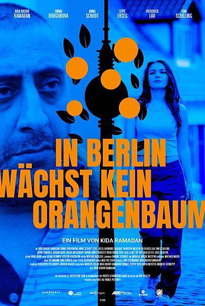 """Filmplakat für """"IN BERLIN WÄCHST KEIN ORANGENBAUM"""""""