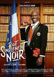 """Movie poster for """"TOUT SIMPLEMENT NOIR"""""""