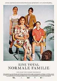 """Movie poster for """"A PERFECTLY NORMAL FAMILY"""""""