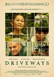 "Movie poster for ""DRIVEWAYS"""