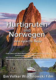 "Movie poster for ""HURTIGRUTEN UND NORWEGEN"""