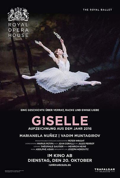 "Filmplakat für ""GISELLE - ROYAL OPERA HOUSE 2020"""