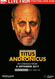 "Movie poster for ""TITUS ANDRONICUS - Royal Shakepseare Company Live"""