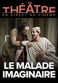 """Movie poster for """"LE MALADE IMAGINAIRE - COMEDIE FRANÇAISE 20/21 """""""