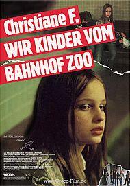 "Movie poster for ""CHRISTIANE F. - WIR KINDER VOM BAHNHOF ZOO"""