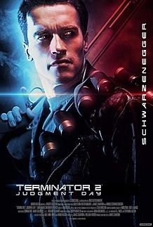 "Movie poster for ""TERMINATOR 2: JUDGMENT DAY"""