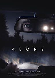 "Movie poster for ""ALONE"""