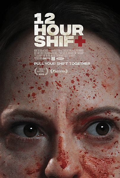 """Movie poster for """"12 HOUR SHIFT"""""""