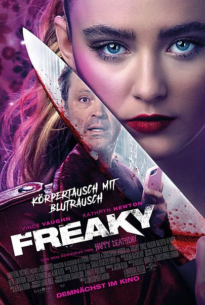 "Movie poster for ""FREAKY"""