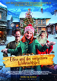 """Movie poster for """"SNEKKER ANDERSON OG DEN VESLE BYGDA SOM GLOMTE AT DET VAR JUL"""""""