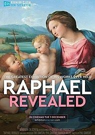 "Movie poster for ""RAPHAEL REVEALED"""