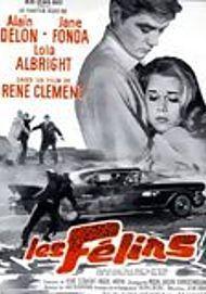 "Movie poster for ""LES FELINS"""
