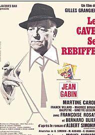"Movie poster for ""LE CAVE SE REBIFFE """
