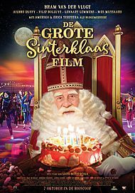 "Movie poster for ""DE GROTE SINTERKLAAS - Film"""