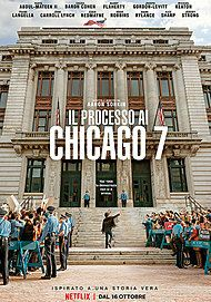 """Movie poster for """"Il processo ai Chicago 7"""""""