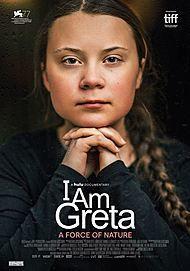 "Movie poster for ""I AM GRETA"""