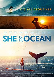 "Movie poster for ""SHE IS THE OCEAN"""