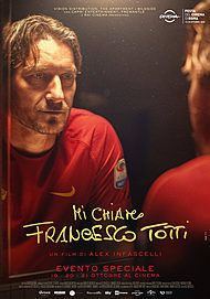 "Movie poster for ""Mi Chiamo Francesco Totti"""