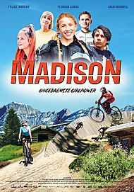 "Movie poster for ""MADISON - UNGEBREMSTE GIRLPOWER"""