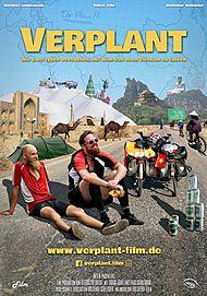 """Filmplakat für """"VERPLANT - WIE ZWEI TYPEN VERSUCHEN; MIT DEM RAD NACH VIETNAM ZU FAHREN"""""""