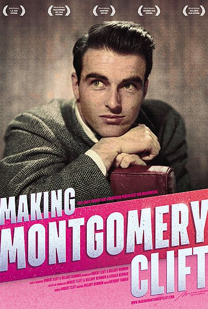 """Movie poster for """"MAKING MONTGOMERY CLIFT"""""""