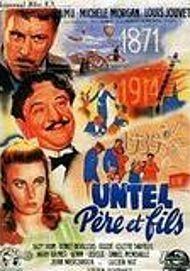 "Movie poster for ""UNTEL PERE ET FILS"""