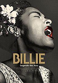 """Filmplakat für """"BILLIE - LEGENDE DES JAZZ"""""""