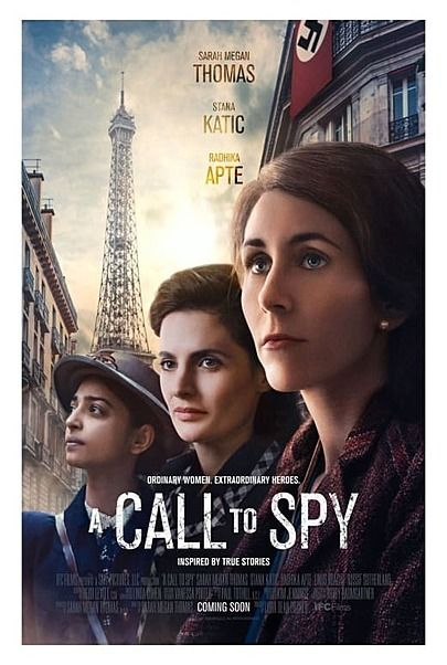 """Movie poster for """"A CALL TO SPY"""""""