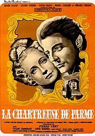 "Movie poster for ""LA CHARTREUSE DE PARME"""