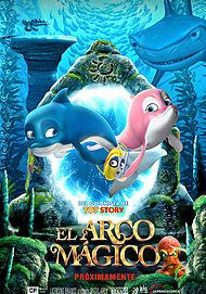 """Movie poster for """"The Magic Arc"""""""